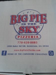 Big Pie in the Sky Box